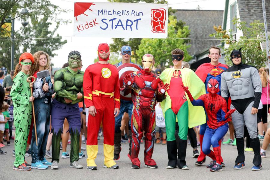 MRTR Kids for Kids Fun Run Superheroes