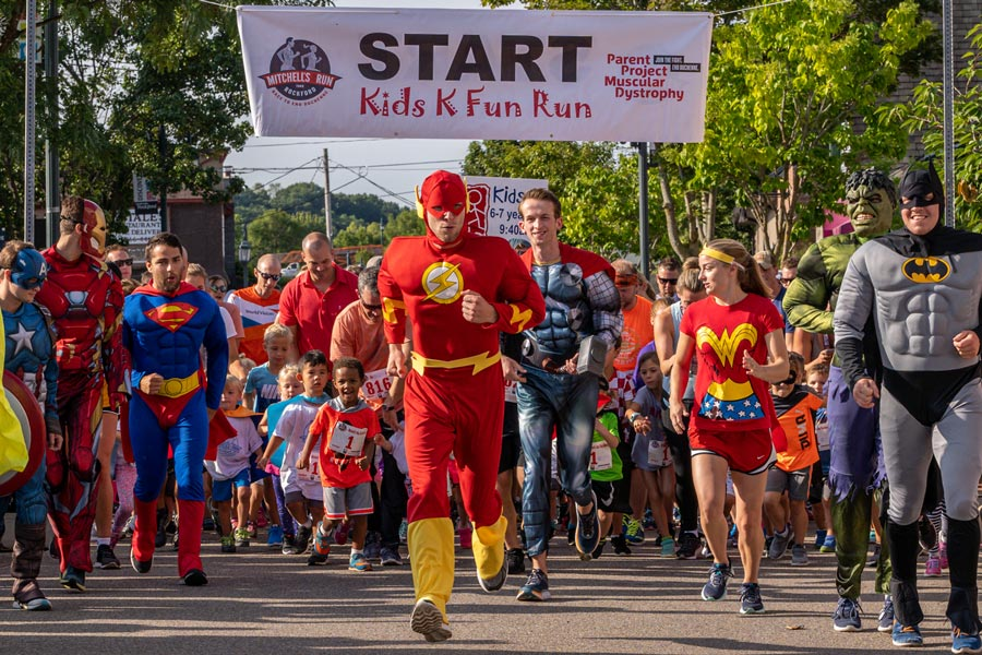 MRTR Kids for Kids Fun Run Superheroes